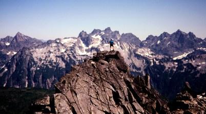 Jim On Big Snow Mountain