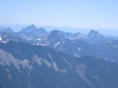 Hibox Mountain, Huckleberry Mountain, and Alta Mountain