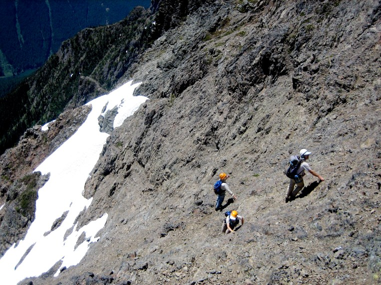 Scrambling Up To Col