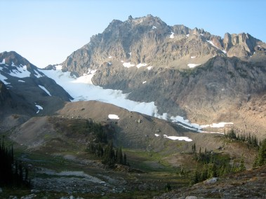 Mt Mystery and Deception Basin