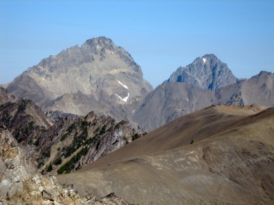 Mt Mystery and Mt Deception