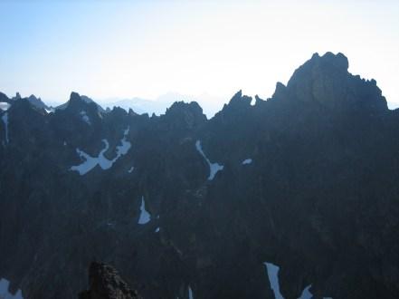 Royal Needles and Mt Johnson