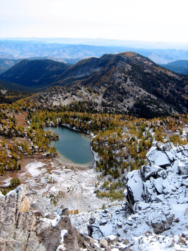 Cooney Lake From Switchback Peak
