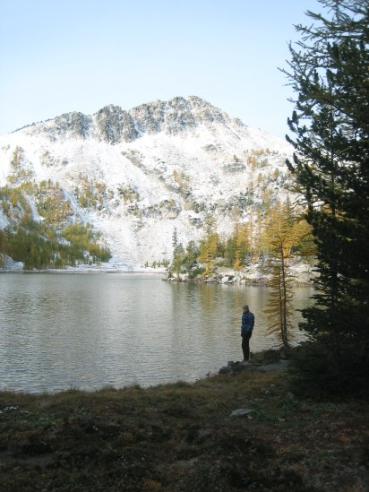 Switchback Peak From Cooney Lake