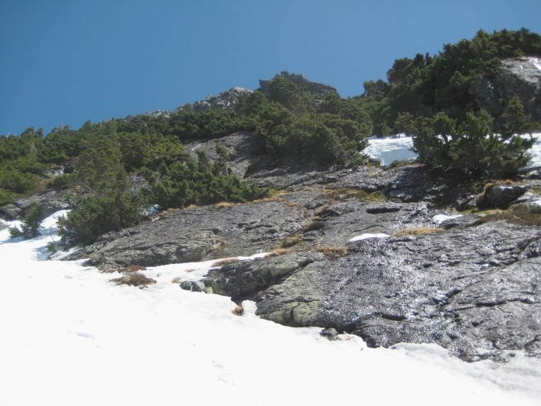 West Ridge From West Col