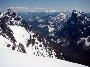 Merchant Peak and Mt Baring From Tailgunner Peak