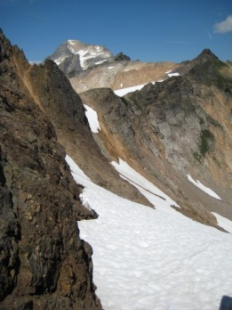 Mount Blum from north Hagan dike notch