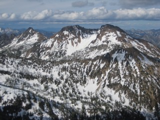 Flora Mountain From Riddle Peak