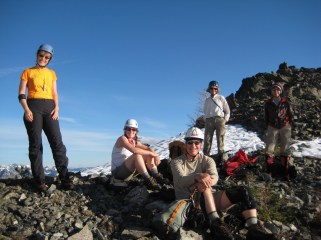 Group At Riddle Saddle