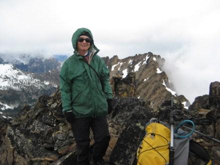 Beth On Summit Of Flora Mountain