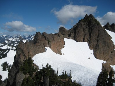 West Ridge Of Mt Stone