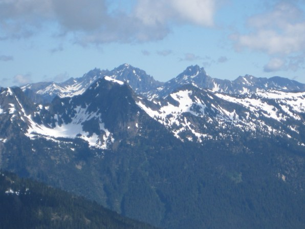 Mt Constance Inner and Outer Peaks