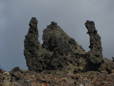 Lava Monster On Ridge
