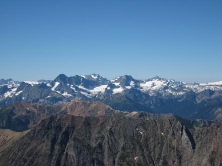 Mesahchie Peak To Forbidden Peak