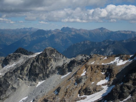 Mt Ballard and Azurite Peak