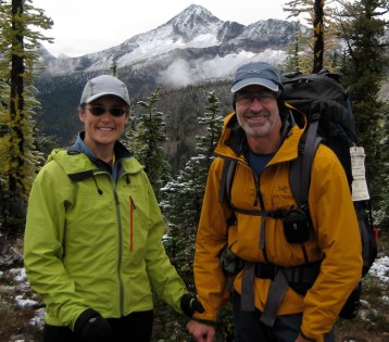 Eileen and Jim At Butte Pass