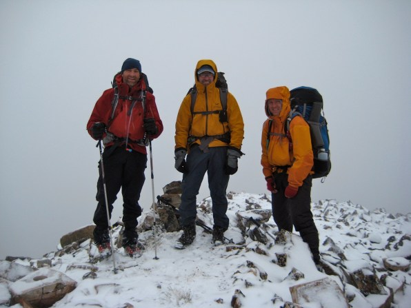 Kevin, Jim, and Kevin On Lost Peak
