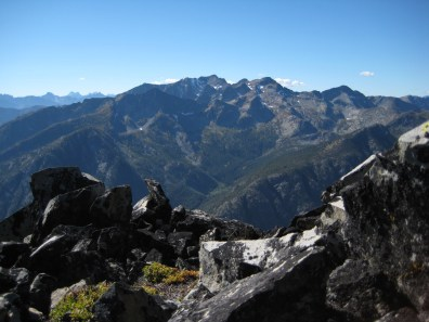 Robinson Mountain From Pistol Peak