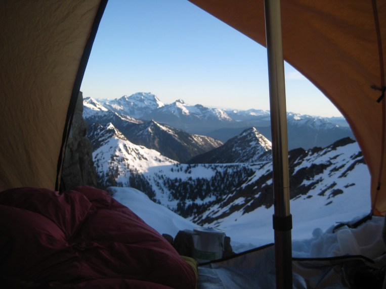Tent View At Mesahchie Col