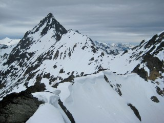 Mesahchie Peak and Mesahchie Col From Pt7690