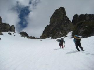 Climbing To WyEast Summit Ridge