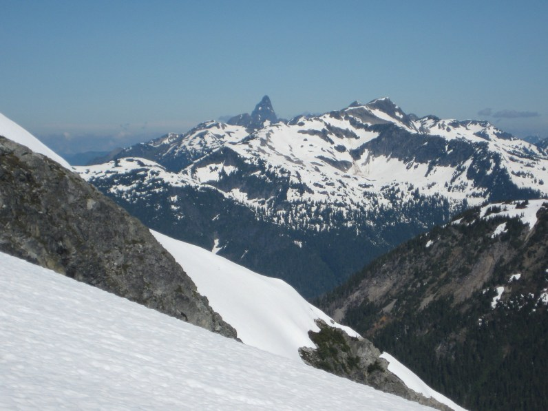 Mt. Slesse From Whatcom Glacier