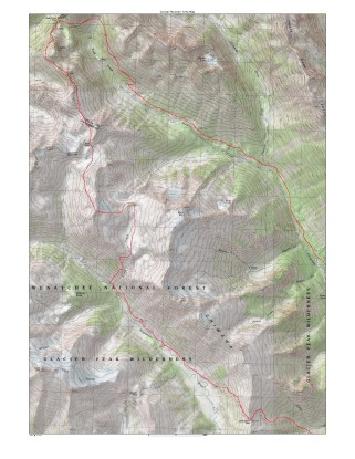High Giant Traverse Map
