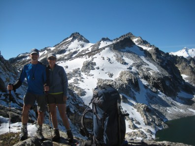 Jim and Eileen At High Pass