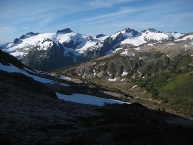 DaKobed Peaks Above Louis Creek Basin