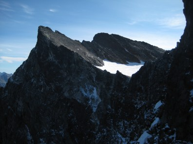 North and Middle Peaks Of Buck Mountain