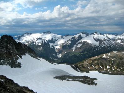 DaKobed Peaks From Buck Mountain