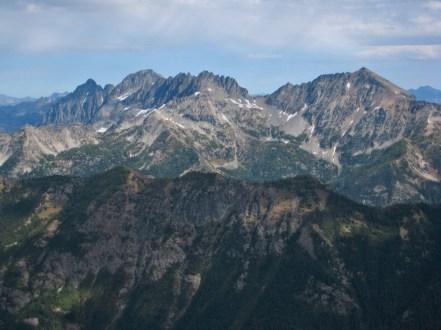 Copper Peak To Mount Maude From Buck Mountain
