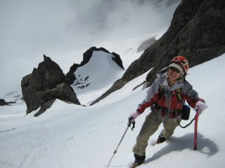 Fay In Upper Couloir