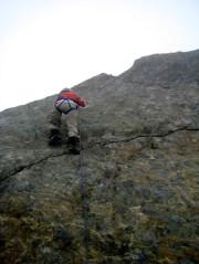 Fay Climbing Summit Horn