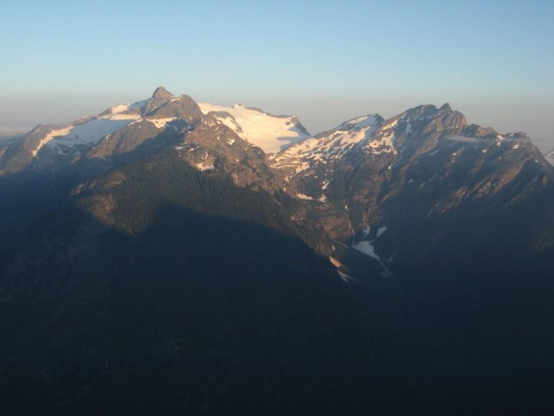 Sunset On Primus Peak & Tricouni Peak