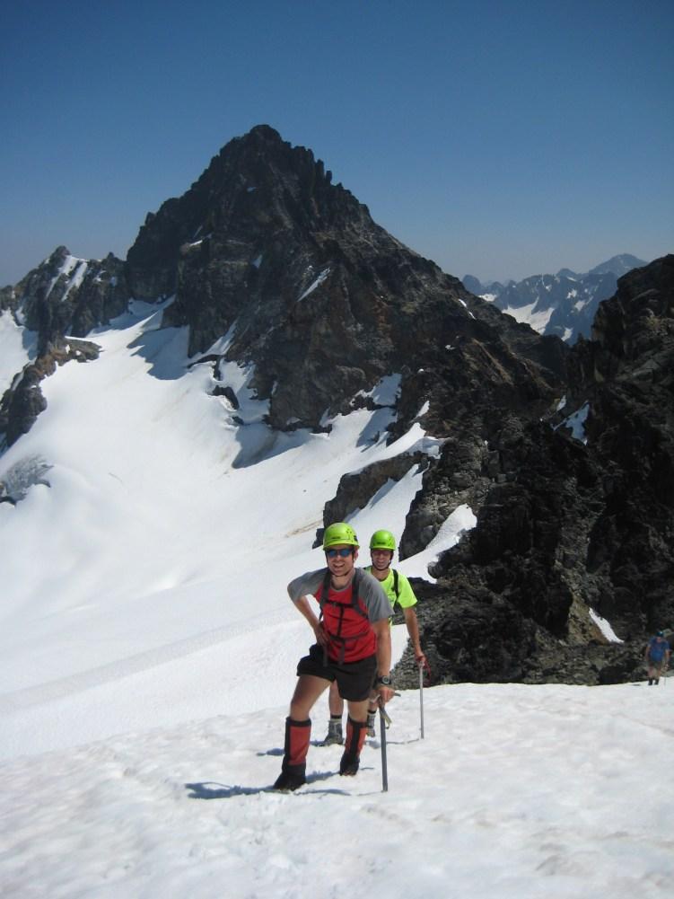 Jon & Todd Climbing Cosho Peak