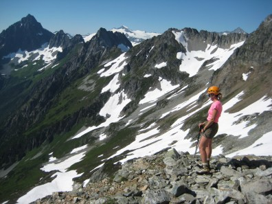 Joberg Mtn Traverse Route From Cache Col