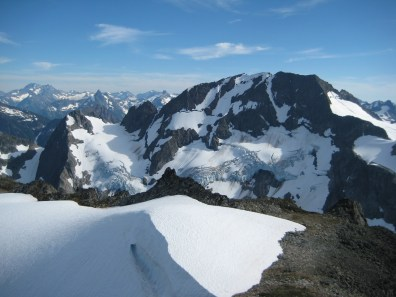 Spider Mtn From Hurry-Up Peak