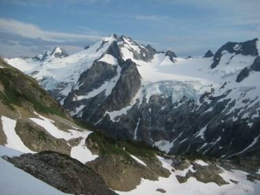 Dome Peak From Lizard Pass