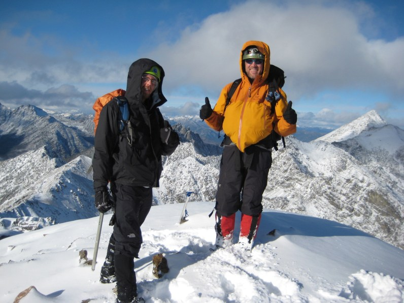 Kirk and Kevin On Abernathy Peak Summit