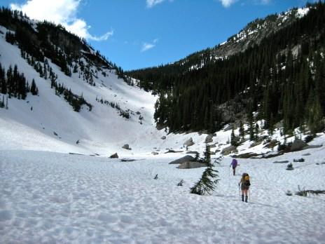 Hiking Thru Kitling Creek Basin