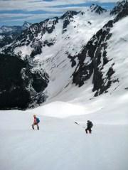 Kitling Peak Above Kitling Pass