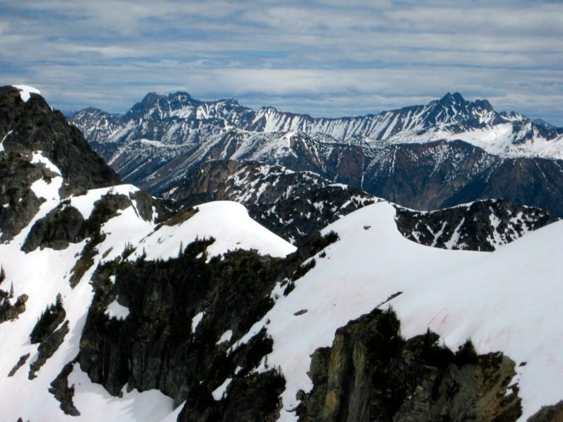 Mt Ballard and Azurite Peak