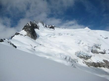 Walrus Glacier, SE Peak, and Summit