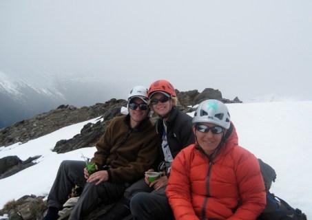Steve, Deb, and Lisa On Summit