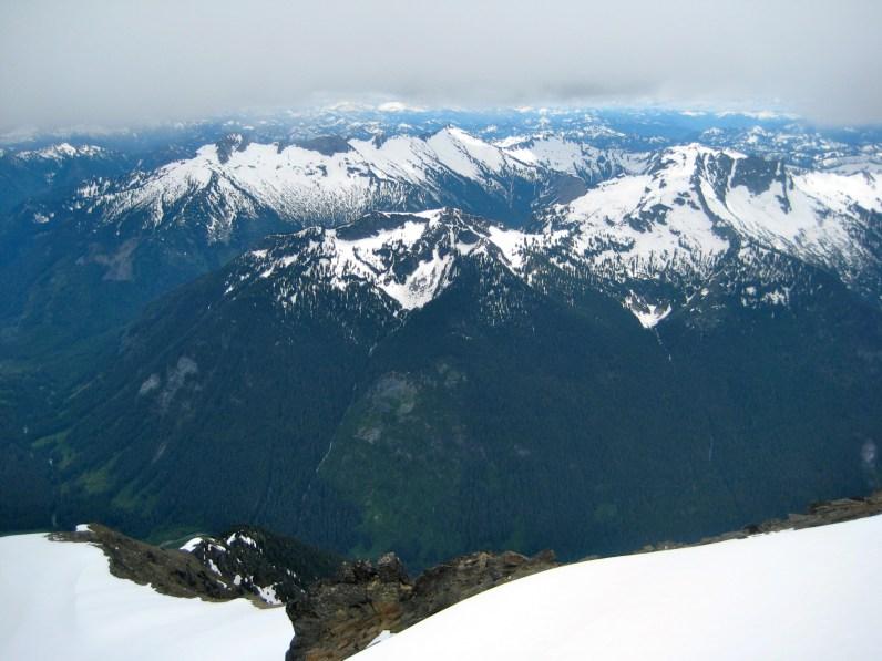 Kings and Poets Peaks From Summit