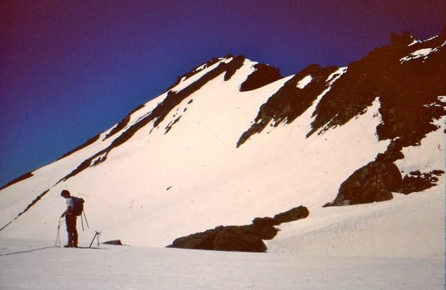 Top Of Walrus Glacier In June 1979