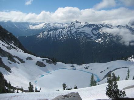 Blue Lake and Saddle Bow Mountain