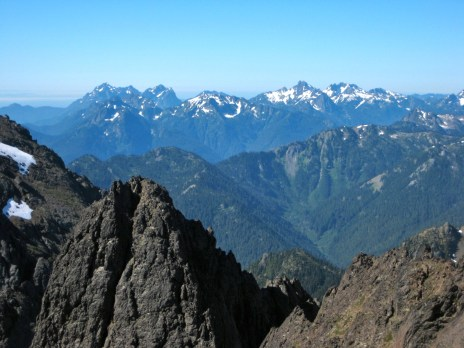 Mount Washington To Mount Skokomish Pano