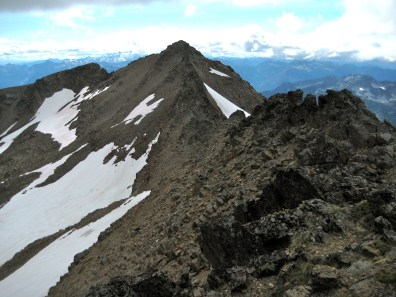 Snowgrass Mountain From Point 7955